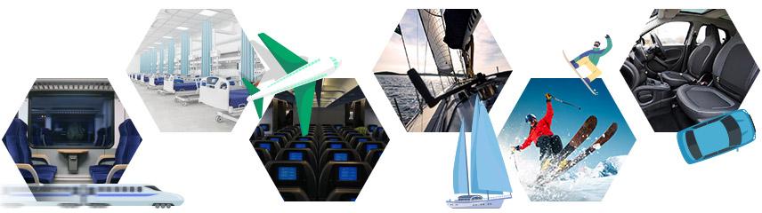 Flaxcomp : de nombreux secteurs d'applications